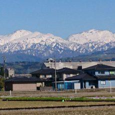 富山立山連峰