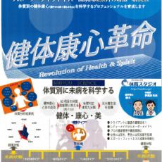 日本最大のスポーツ・健康産業総合展示会で㈱ハヤブサのスタッフの皆さんとともに体質九分類の展示を致します。